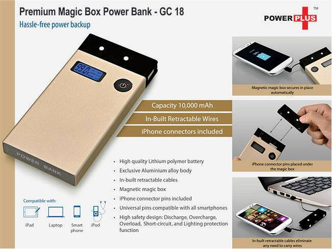 GC18 - Magic box Premium Power Bank