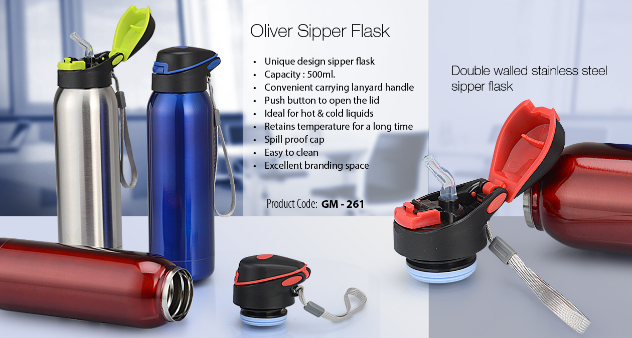Oliver Sipper Flask