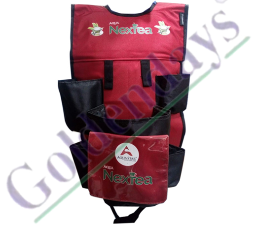 Red Nextea Jacket Bag