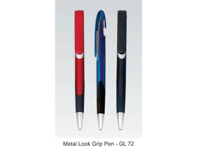 GL72 - Metal look grip pen