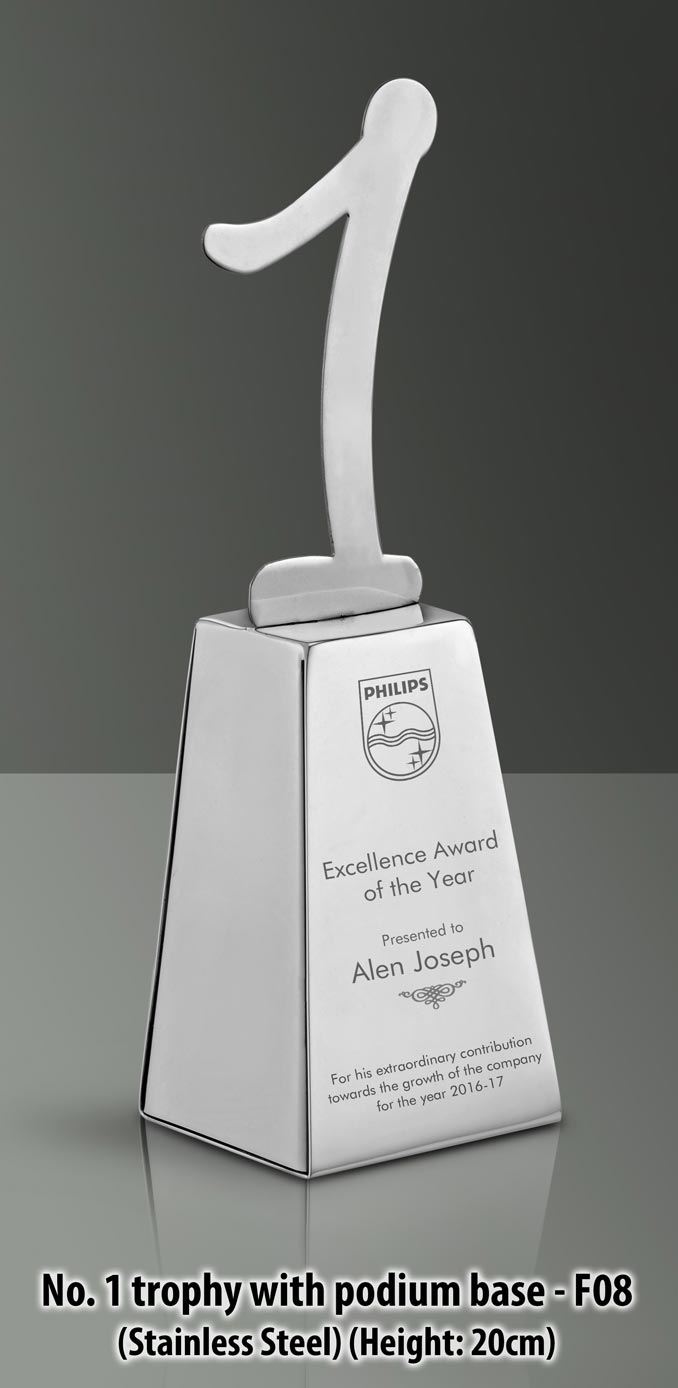 Promotional podium base Trophy