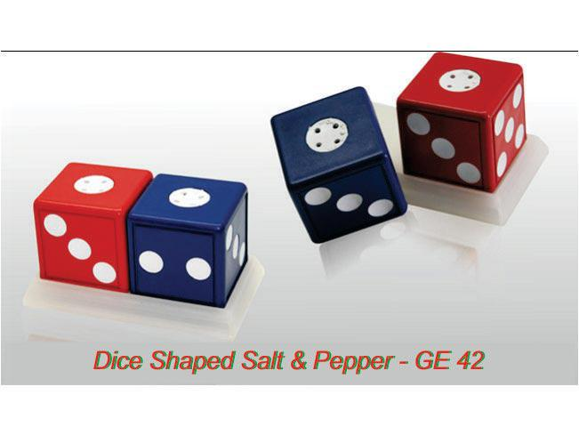 GE42 - Dice shape salt & pepper