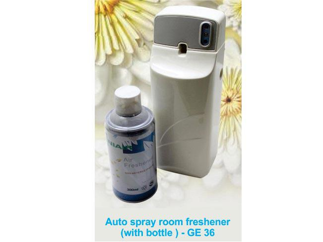 GE36 - DC321 Auto Spray (room Freshener) with perfume bottle