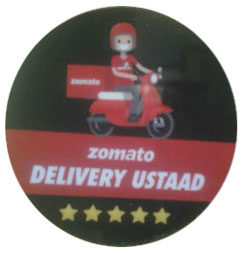 Zomato Badge