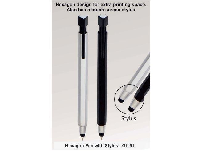 GL61 - Hexagon pen with stylus