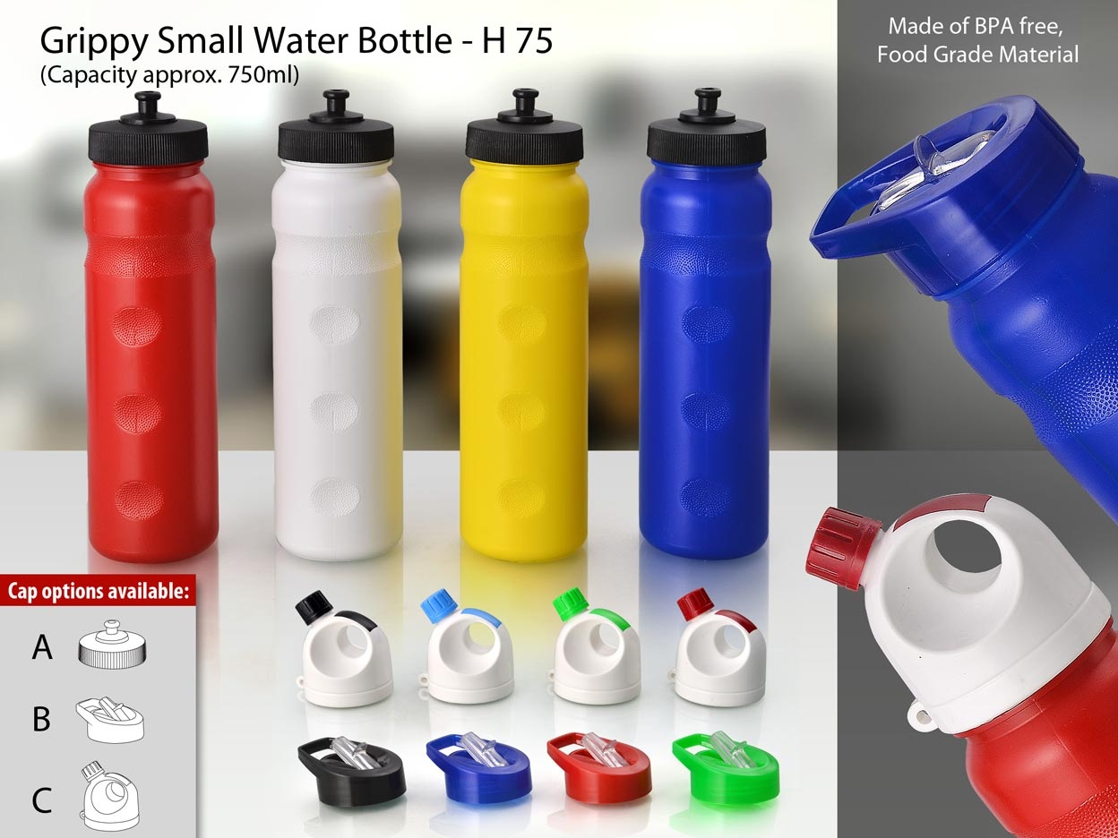 H75 - Power Plus Grippy Small Water Bottle ( Capacity approx. 750ml)