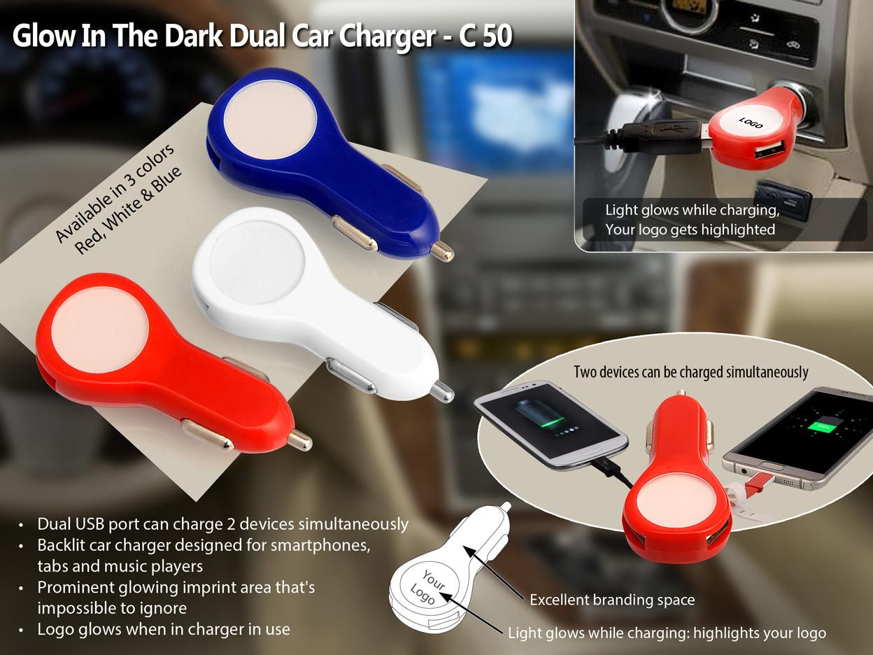 Promotional Dual USB Charger