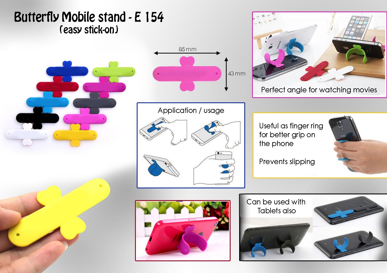 E154 - Butterfly Mobile stand