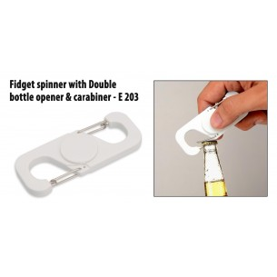 E203 - Fidget spinner with Double bottle opener