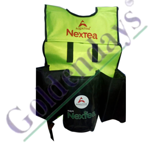 Green Nextea Jacket Bag