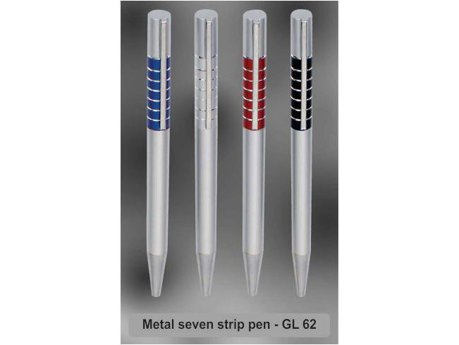 GL62 - Metal 7 strip pen