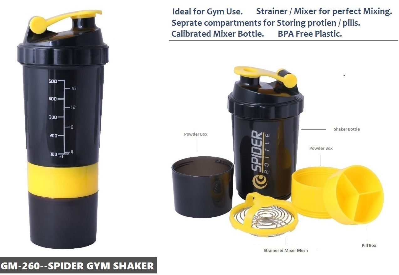 GM-260--Spider Gym Shaker