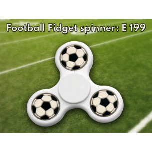 E199 - Football Fidget spinner
