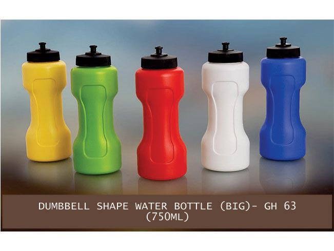 GH63 - Dumbbell shape water bottle big (750 ml)