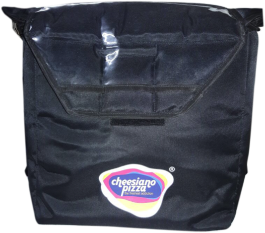 Cheesiano Pizza Delivery bag