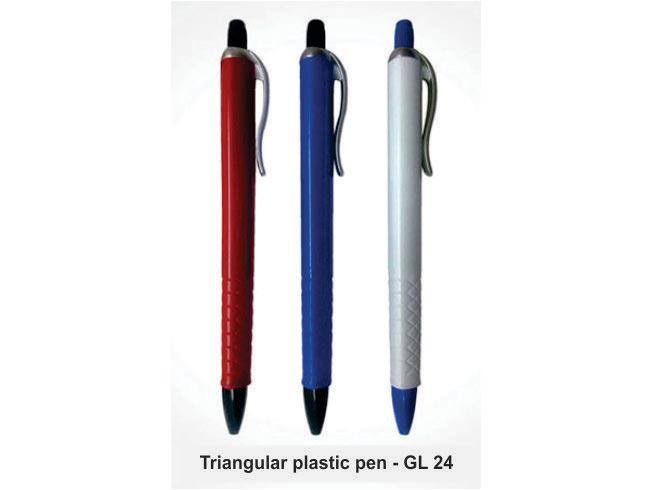 GL24 - Triangular plastic pen