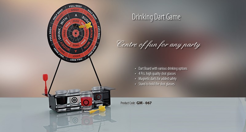 GM- 067 Drinking Dart Game
