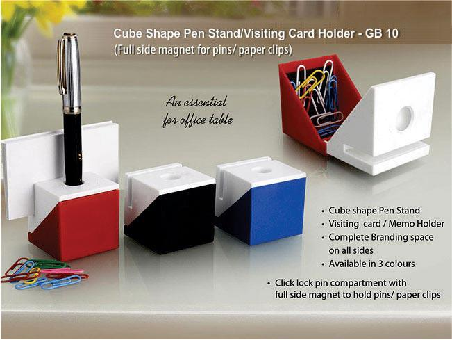 GB10-Cube shape 3 in 1 Table top