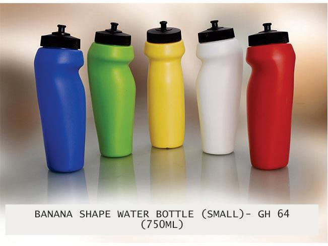 GH64 - Banana shape water bottle (750 ml)