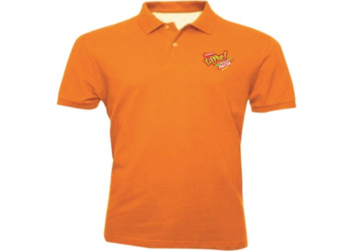 ORANGE YIPPEE T-SHIRT