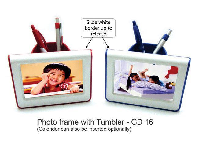 GD16 - Photo frame with tumbler