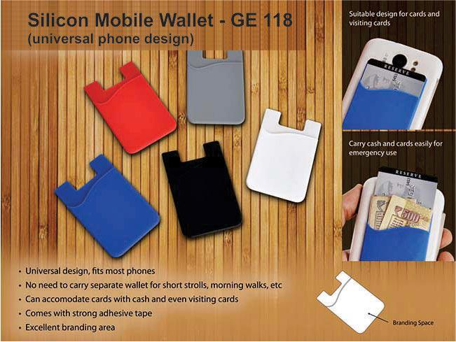 GE118 - Silicon mobile wallet