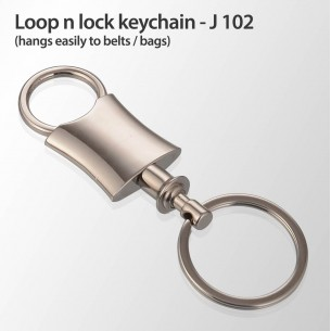 J102 - Loop n lock keychain