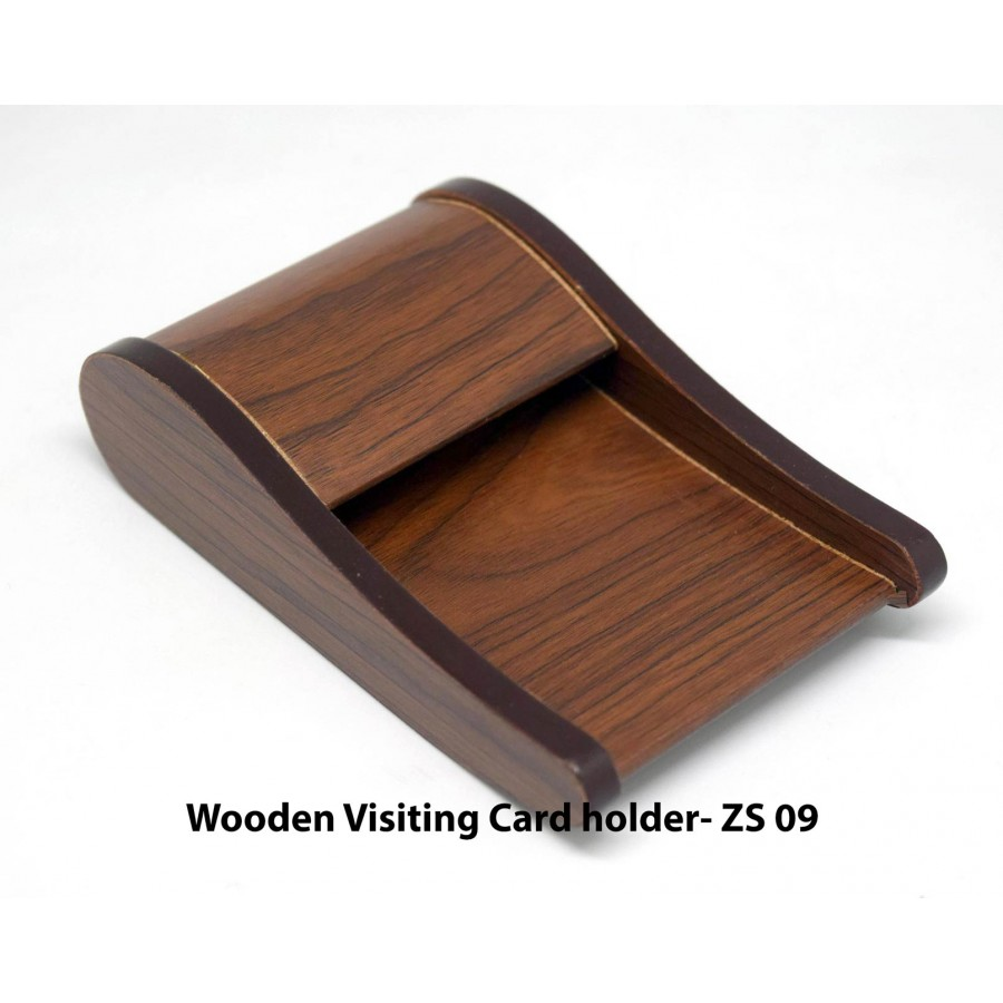 ZS09 - Wooden visiting card holder for tablet