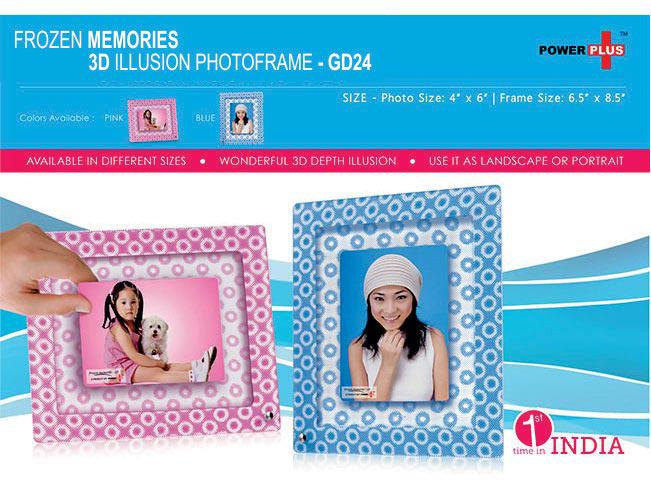 GD24 - Frozen memories - 3D photo frame (4 x 6)