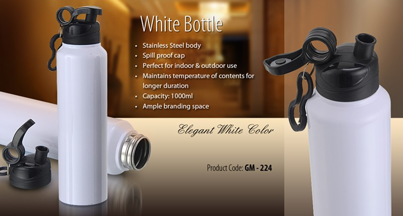 GM 224 White Bottle