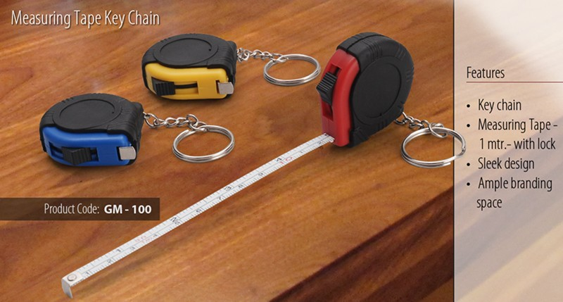 GM- 100 Measuring Tape Key Chain
