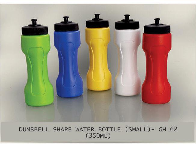 GH62 - Dumbbell shape water bottle small (350 ml)
