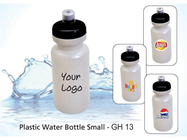 GH13 - Plastic Water Bottle Small