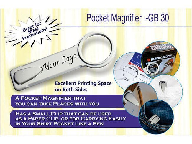 GB30 - Pocket magnifier