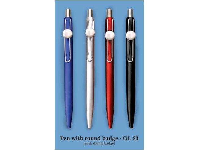 GL83 - Pen with Round badge