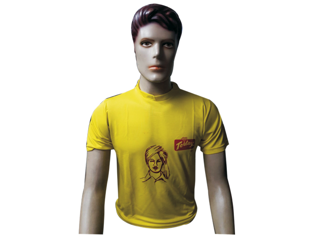 Today Yellow T-shirt