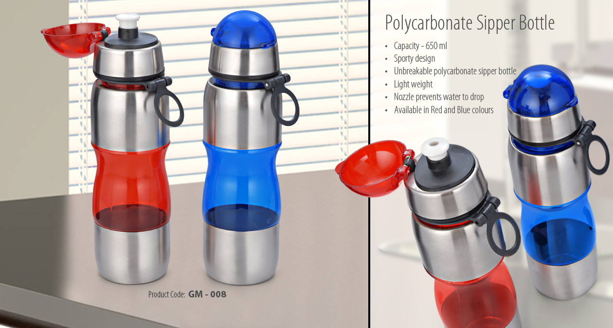 Polycarbonate Sipper Bottle