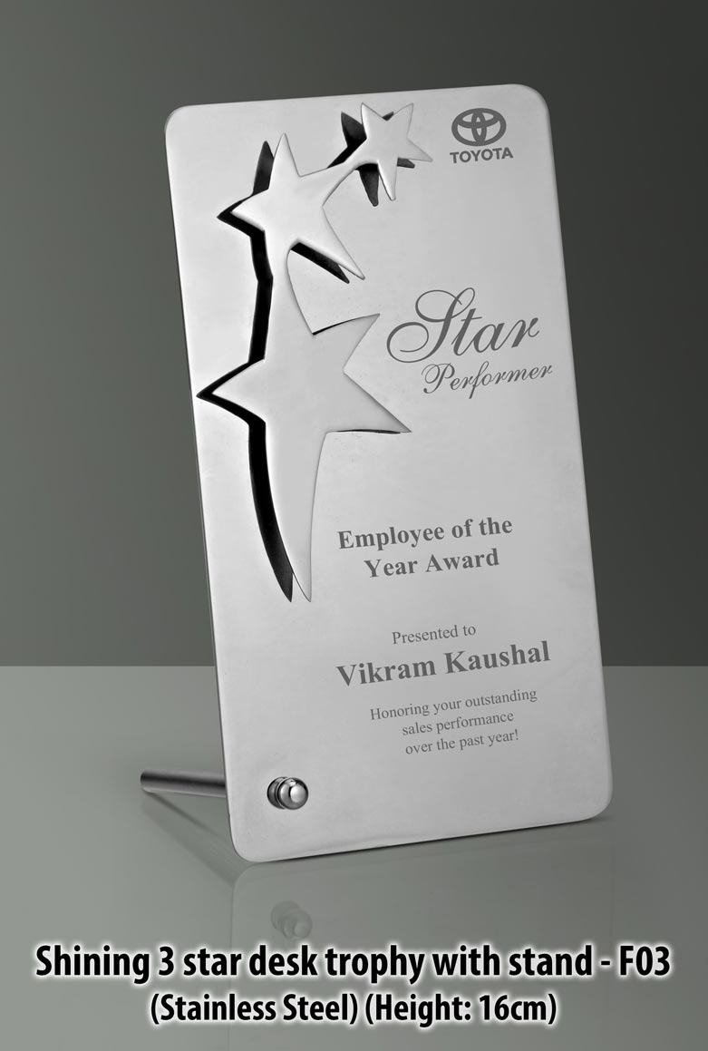 Promotional Star Awards Trophy