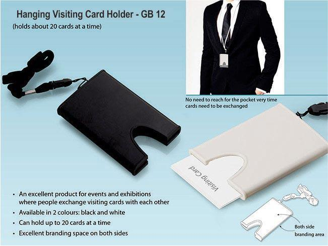 GB12 Hanging Visiting card holder