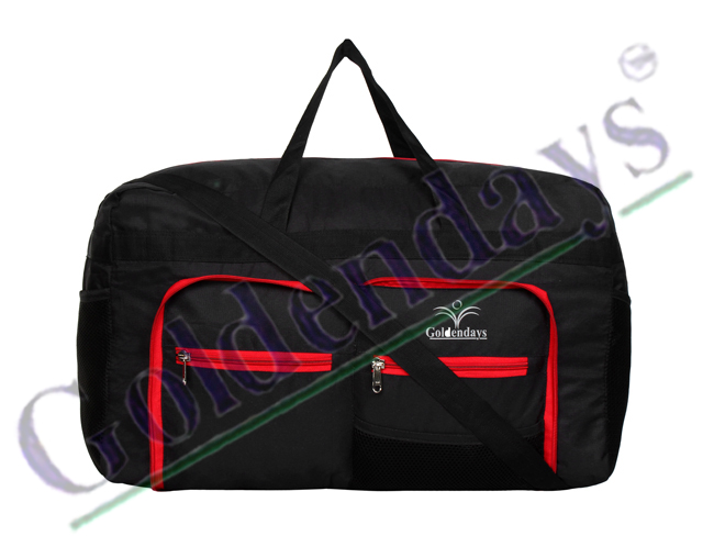 Goldendays Foldable Duffle bag 229 Red & Black