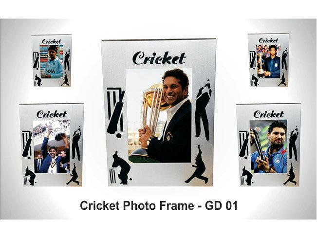 GD01 - Cricket Photo Frame (metal)