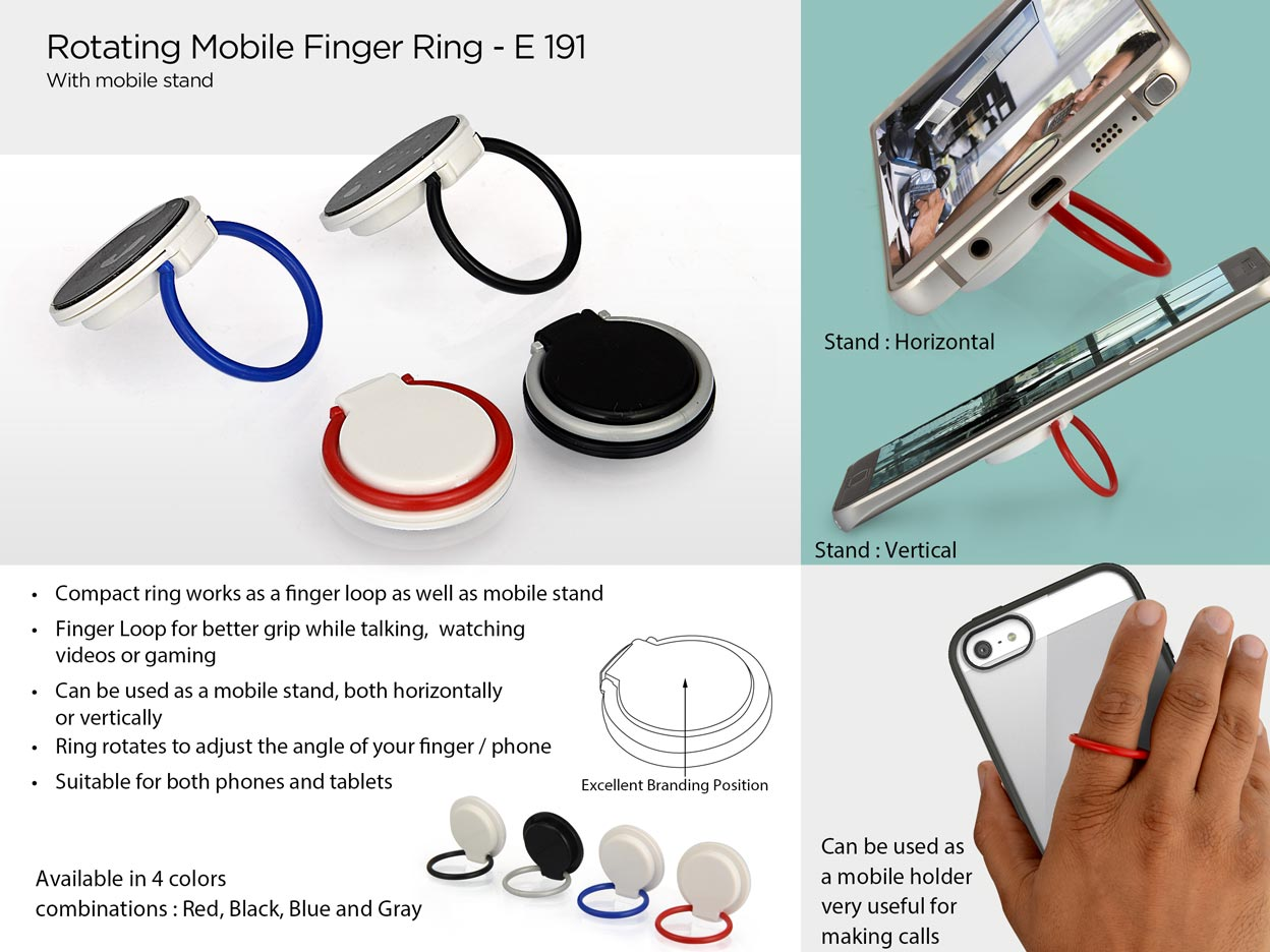 Promotional Finger Loop Stand