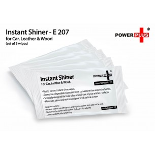 E207 - INSTANT SHINER: FOR CAR, LEATHER & WOOD