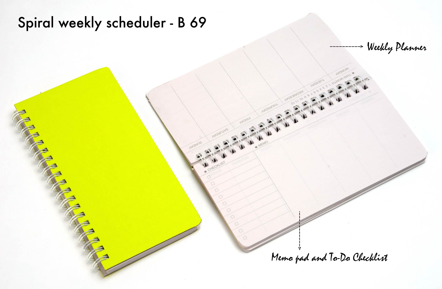 B69 - Spiral weekly scheduler