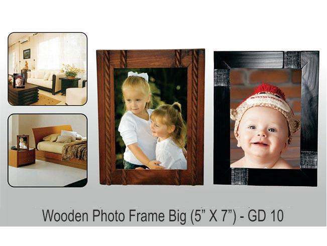 GD10 - Wooden Photo frame Big (5x7)