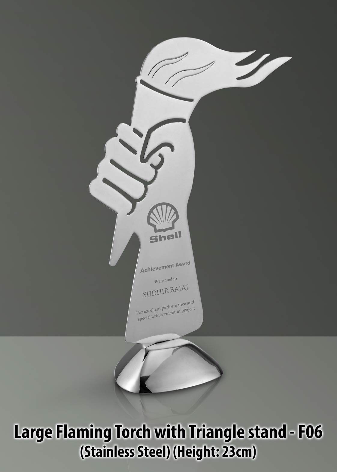 Custom Logo Imprinted Trophies