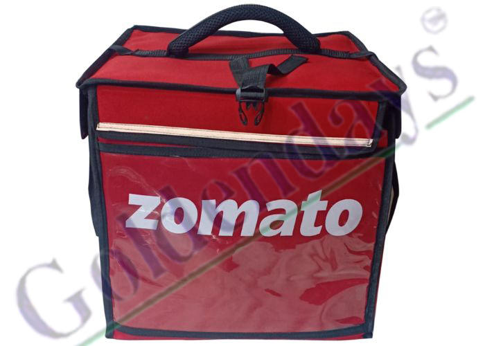 Zomato Food Delivery Bag