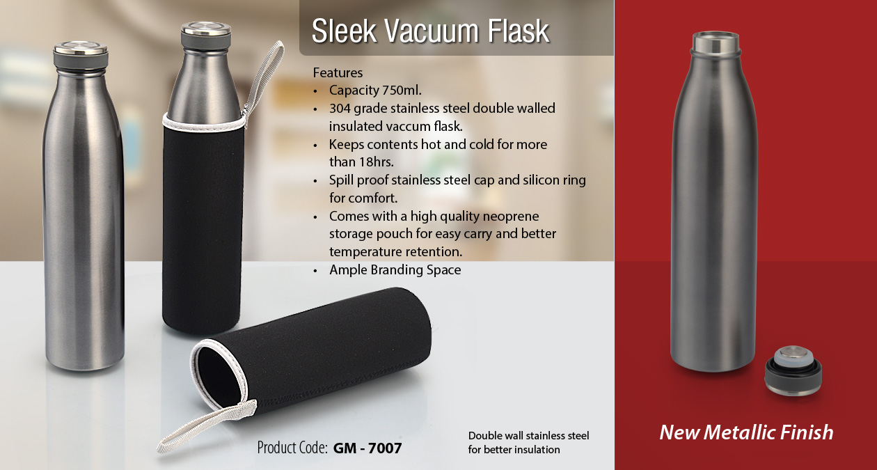 Sleek Vacuum Flask