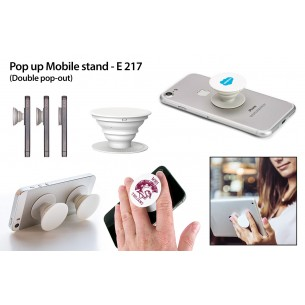 E217 - Pop up Mobile stand (Double pop out)