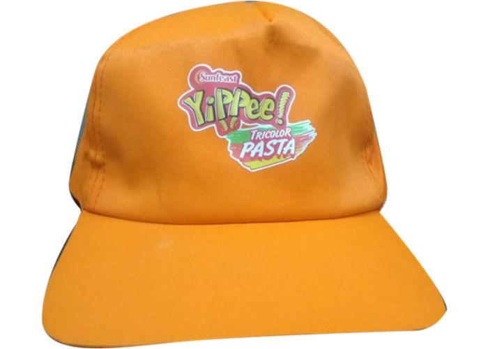 ORANGE YIPPEE CAP